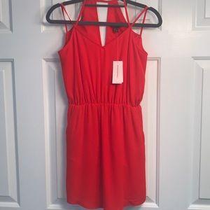 NEVER WORN Banana Republic Red Mini Dress - 00P